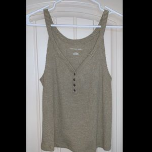 American Eagle Outfitters Tops - Green tank top